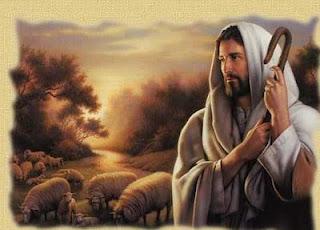 Jesús como el pastor del salmo 23