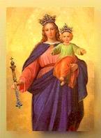 La dulce Virgen María