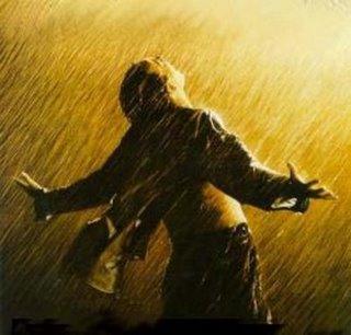 Hombre en la lluvia
