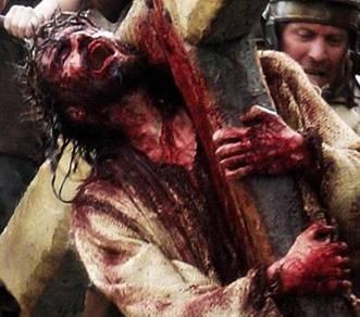 Jesús Cargando la Cruz, de la película 'La Pasión de Cristo'