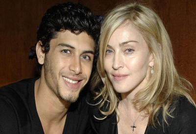 Madonna con su novio Jesús
